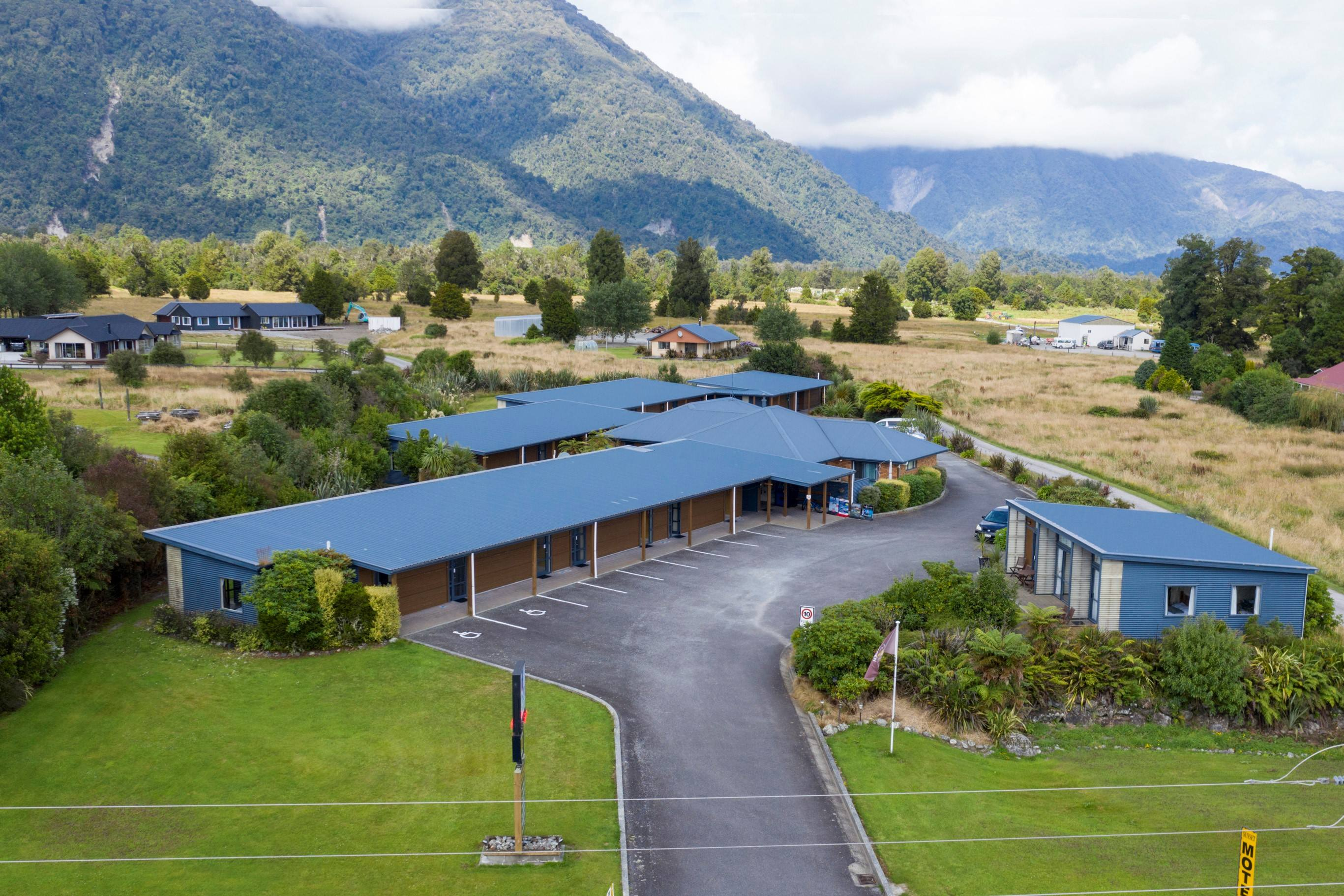 Mt Cook Highly Profitable Sunset Motel For Sale In Fox Glacier NZ