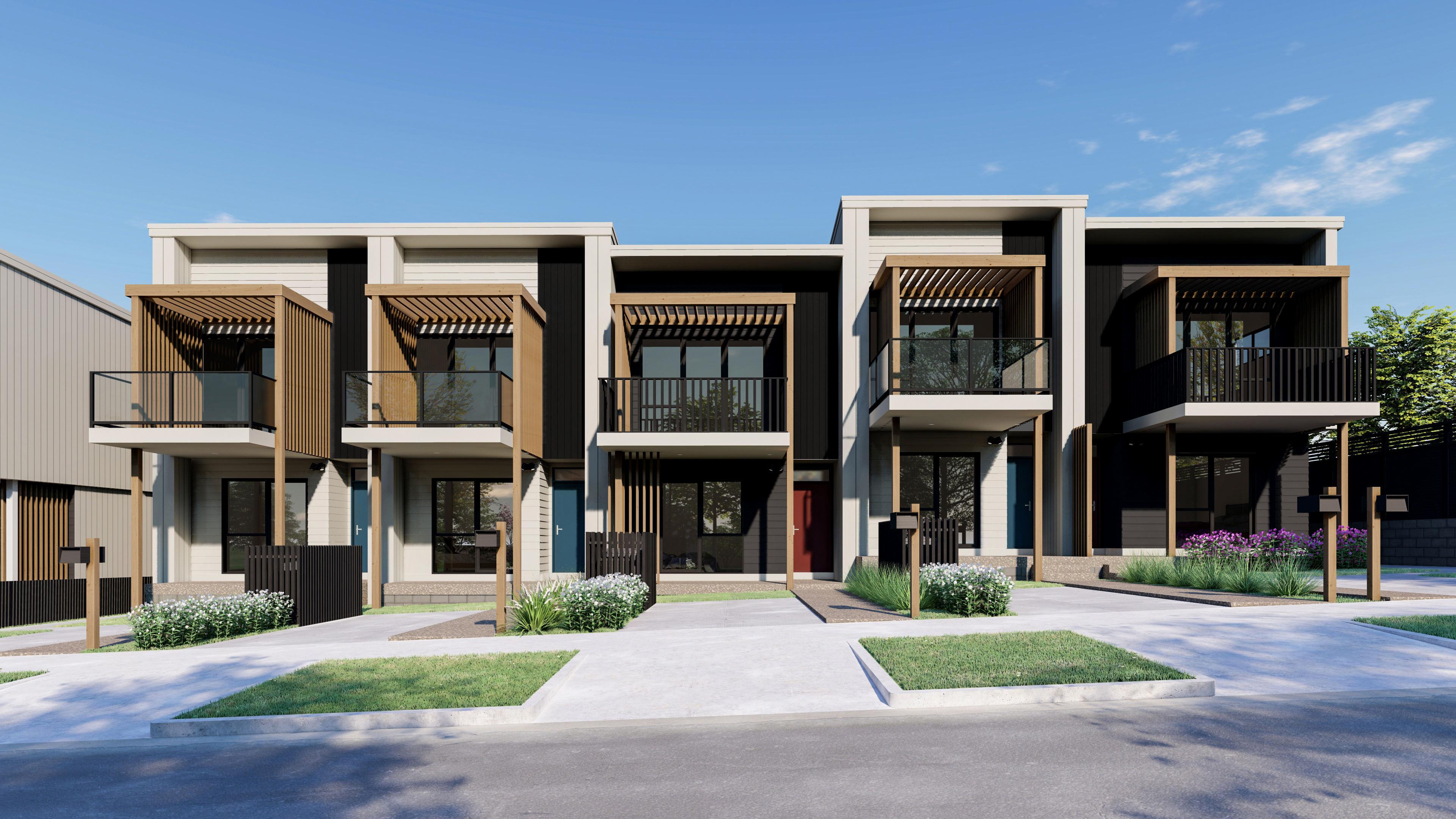 Hobsonville 2房 $60万起/惬意户型/小院和阳台/醇熟社区/便利生活/ 价格可负担/轻松上高速