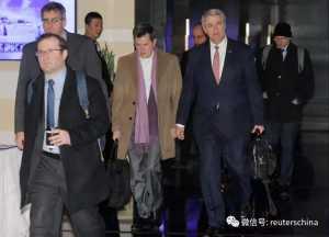 美国贸易代表团结束在北京的谈判达成协议的憧憬升温