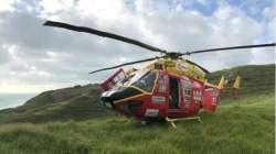 奥克兰救援直升机在前往车祸现场进行救援的途中与无人机擦肩而过,差点相撞引发灾难性事故