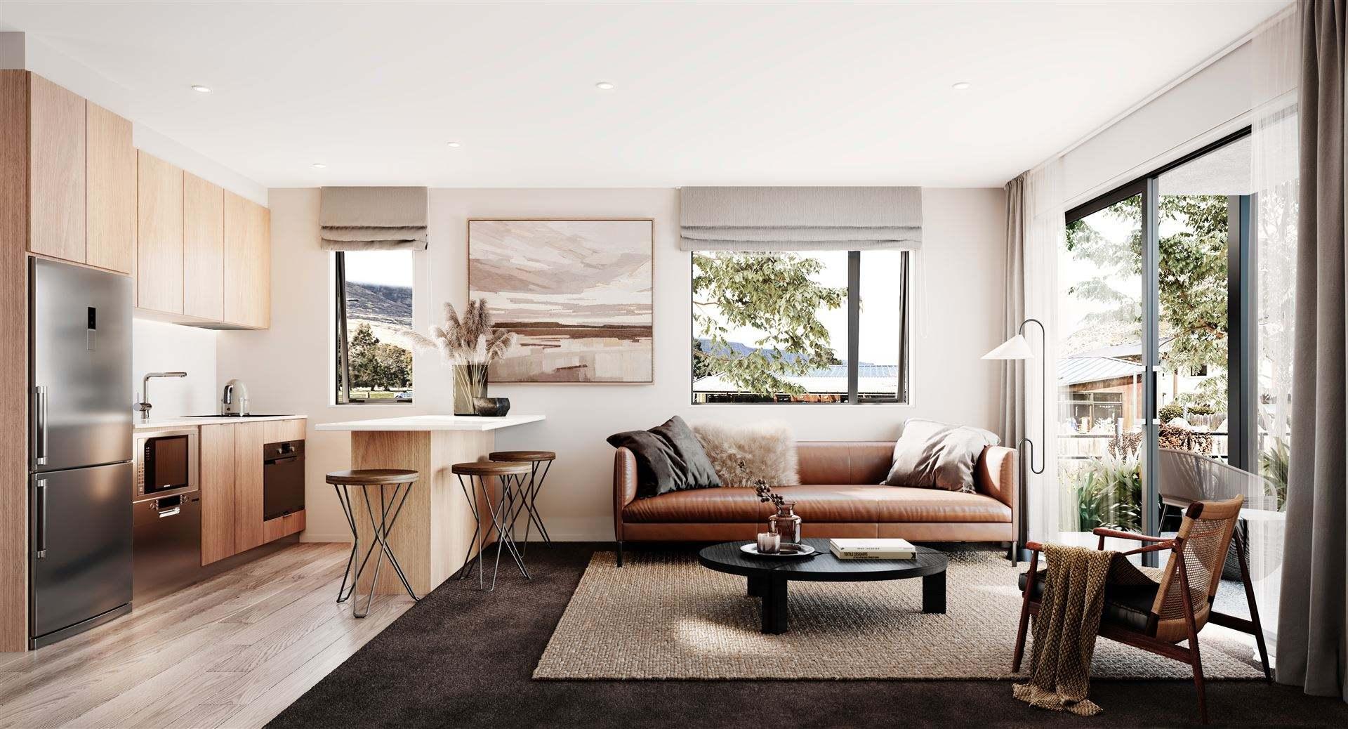 Frankton 2房 New 2 Bedroom Queenstown Apartment