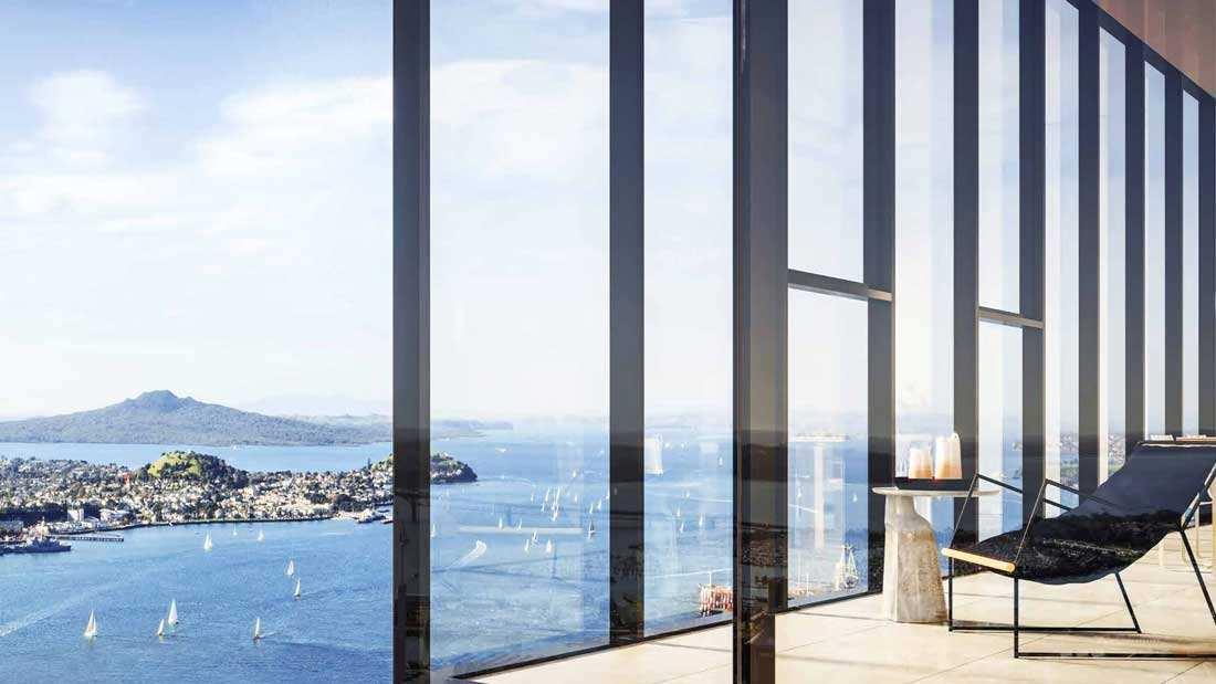 Auckland Central The Pacifica 坐落奥克兰核心地带 最炙手可热的高端公寓 拥有奢华都市生活的首选! The Pacifica