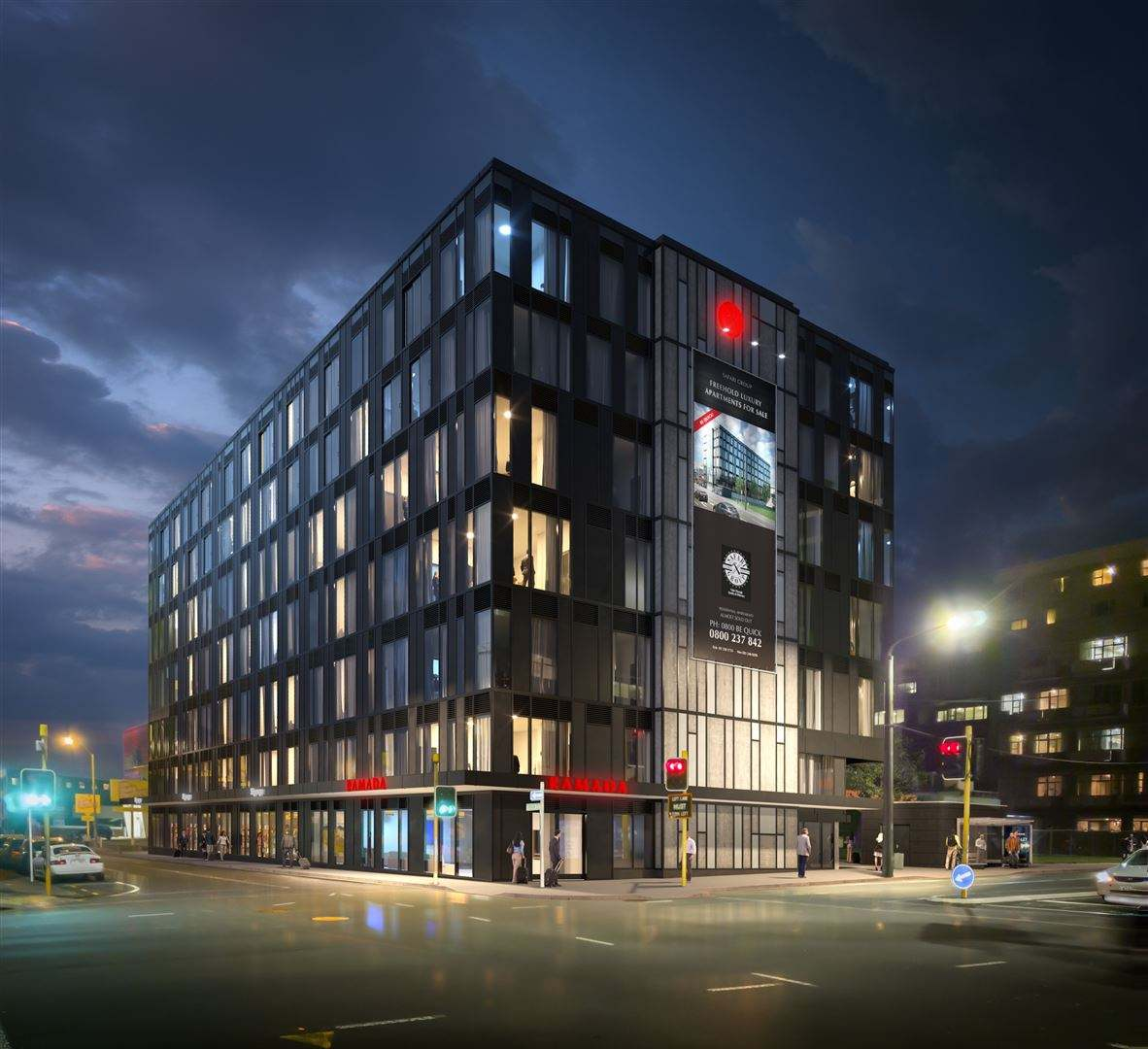 Wellington Central 2房 Secure Affordable Residential & Hotel Suites Prime Location
