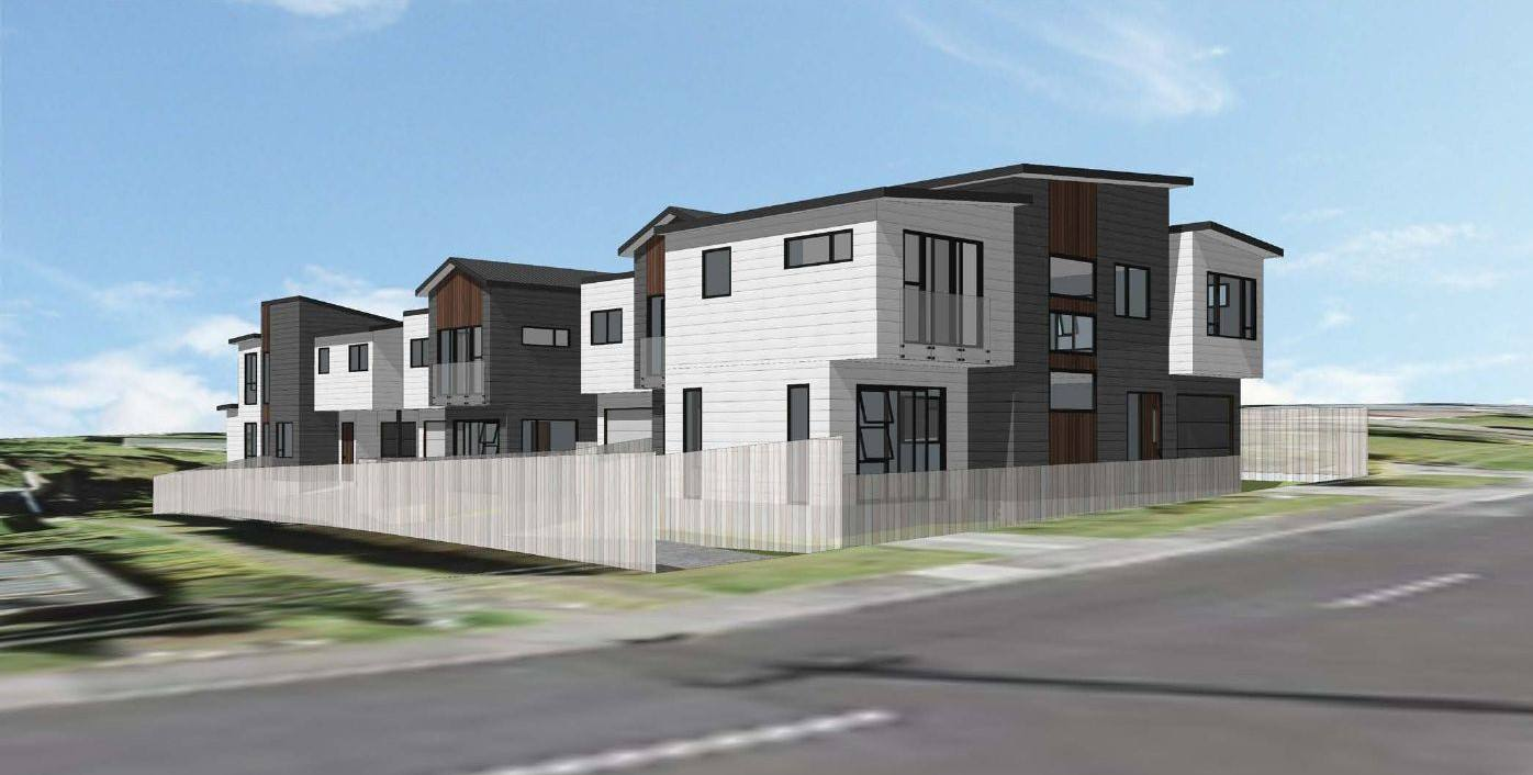 Te Atatu South 3房 人气校网城市屋 10分钟抵达CBD 零物业费 增值前景可期 2021年底竣工! Secure Now & Move In 2021!