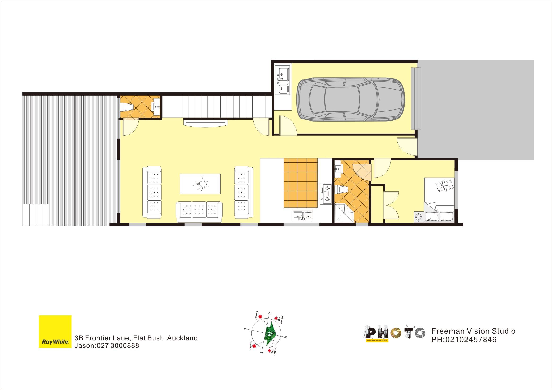 Flat Bush 5房 Five Bedroom Brand New House!