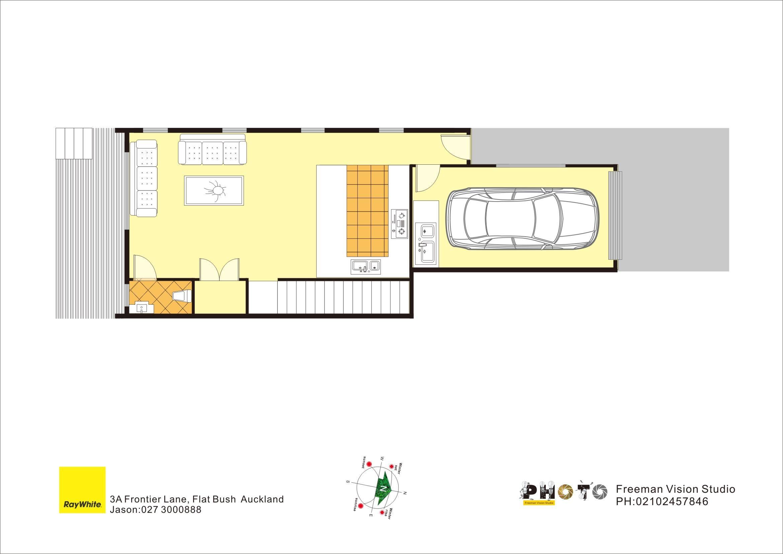 Flat Bush 3房 Three Bedroom Brand New House