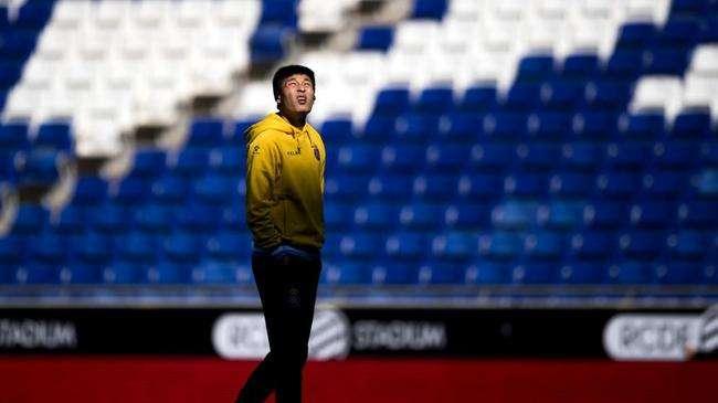 武磊:在球场展现最好的一面 跟裁判用英语交流
