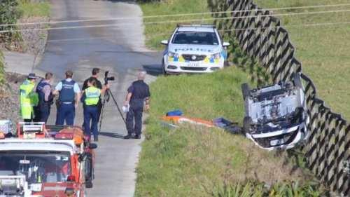 【多图】奥克兰西区突发车祸,一人死亡两人受伤