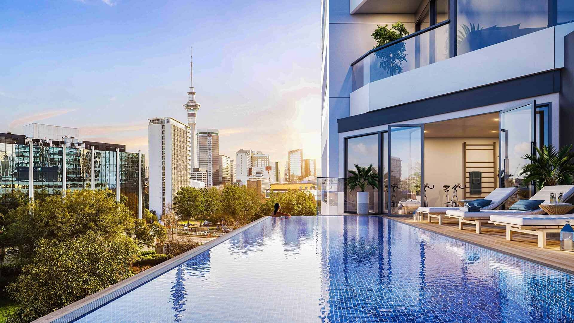 Auckland Central 1房 No Restriction for Overseas Buyers