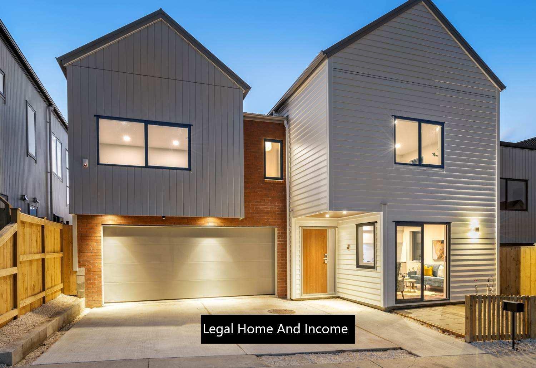 Hobsonville 6房 全新自住+收入物业 配套一流 靠近公园&海滨步道 好校云集 轻松前往CBD! Brand New! The Ultimate Home & Income