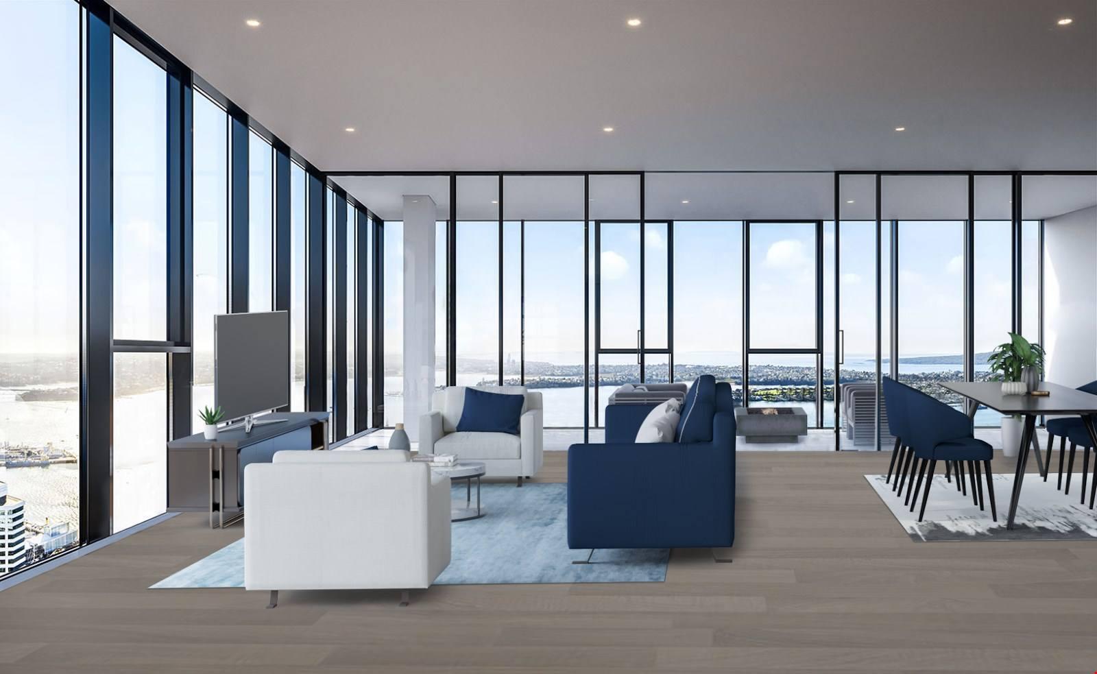 Auckland Central 2房 急售!49楼云巅美寓 大师之作 四面八方皆是景 给您世界级非凡享受! Urgent Sale! Spectacular home in World Class B...