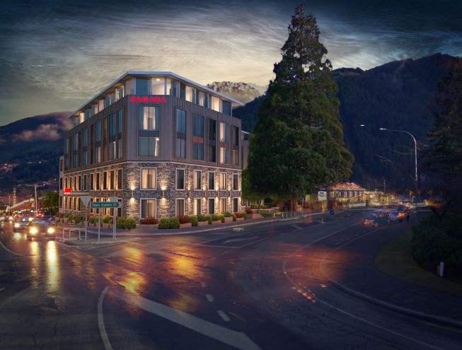 Queenstown 预计今年8月份完工 皇后镇中心华美达酒店和套房 最后9套酒店式公寓 价格仅需$280,319起 Queenstown