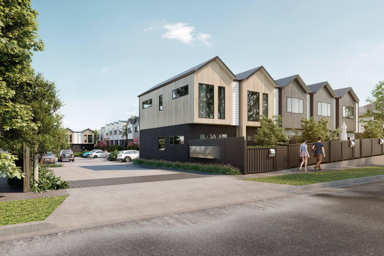 Royal Oak 2房 21套优质排房 明年竣工 带10年主建筑师质保 配套一网打尽 自住/投资均可! OAK TERRACE