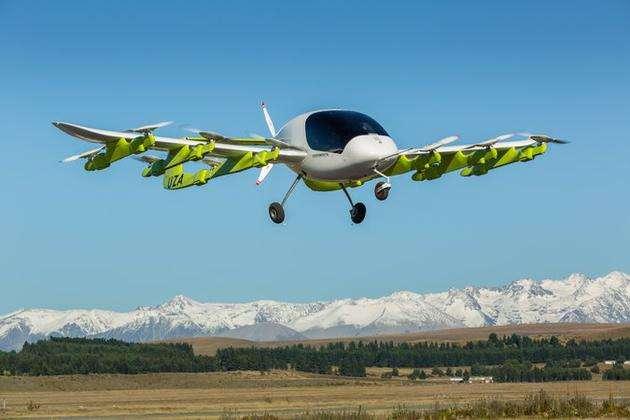 """世界首辆自动驾驶""""空中出租车""""在新西兰试飞,未来可以打""""飞的""""出行啦!"""