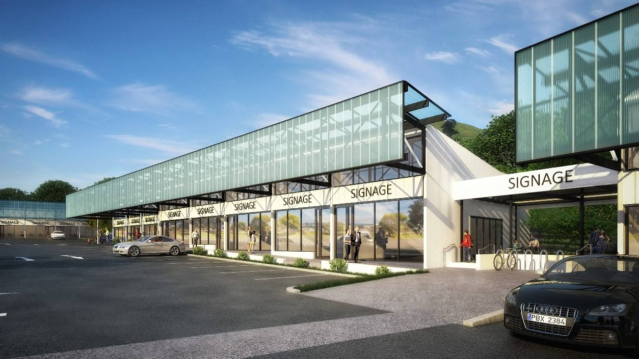Panmure 奥克兰最新城市零售中心商铺隆重上市 全新商业中心 Panmure的璀璨之星 71 Jellicoe Road, Panmure, Auckland