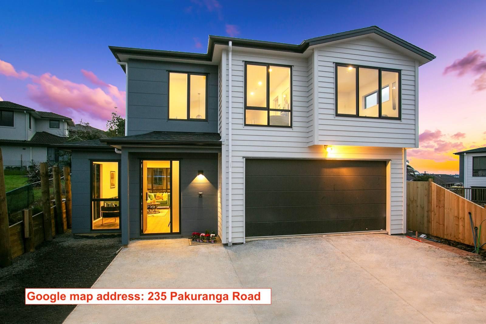 Pakuranga 4房 全新意式奢居 可自选装潢/配色方案 10年质保 预计2020年4月竣工! Brand New Start !!