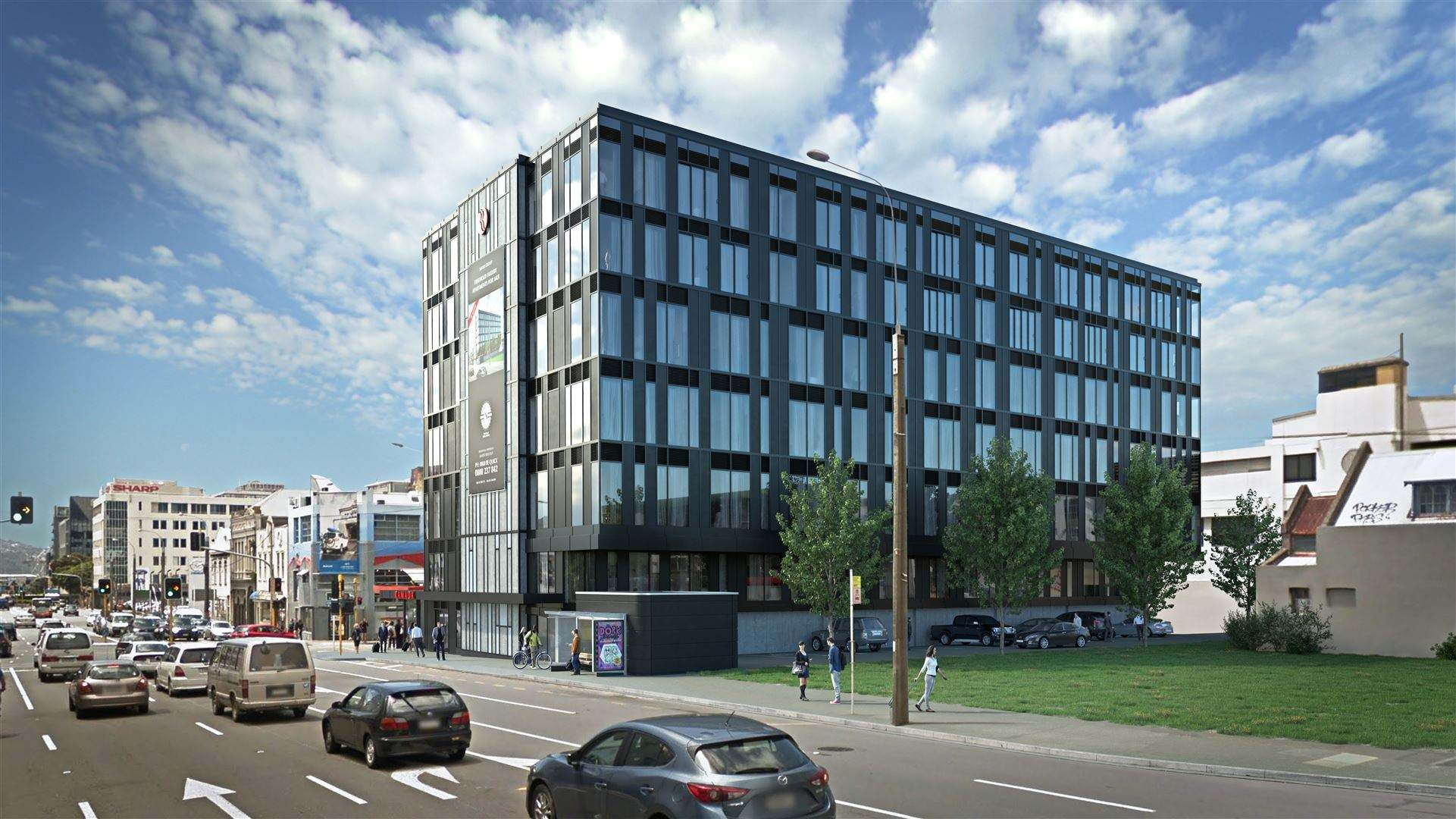 Wellington Central 2房 Secure Affordable Residential Prime Location Apartments