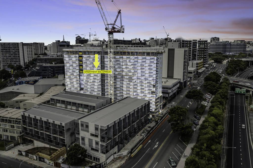 Auckland Central 2房 CBD全新极致美寓 于云巅瞰美景  邂逅浪漫生活! High Spec Apartment with Three Carparks!