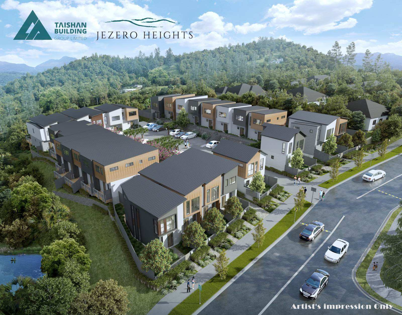 Massey 2房 Jezero Heights性价比新房 注重品质与生活体验 地段一流 近高速 多面积可选! Jezero Heights - Affordable Freehold Townhouses