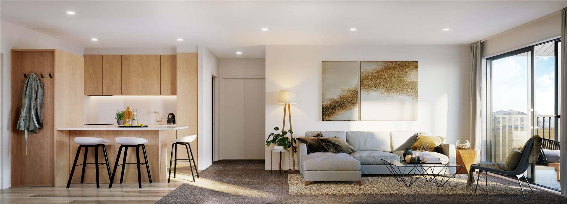 Frankton 2房 Smart New 2-Bedroom Queenstown Apartment