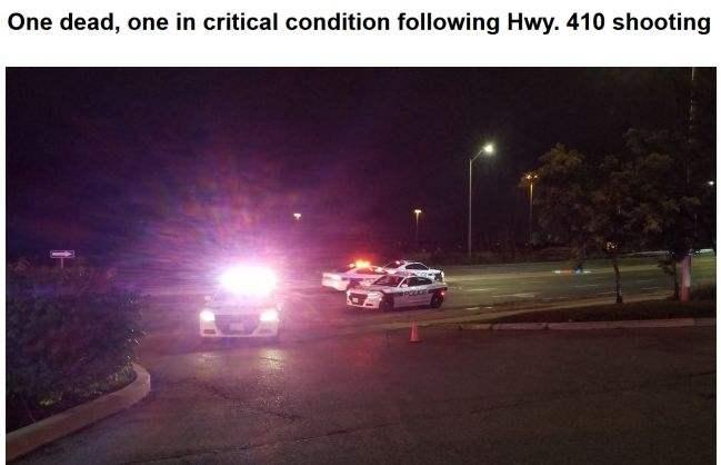今早突发:多伦多警员与枪手交火互射,1死1伤,枪手奥迪车满是弹孔!