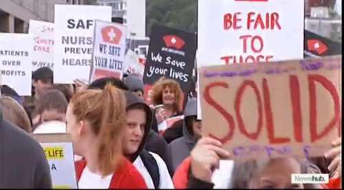 新西兰护士大罢工 日期已定 7月5日!