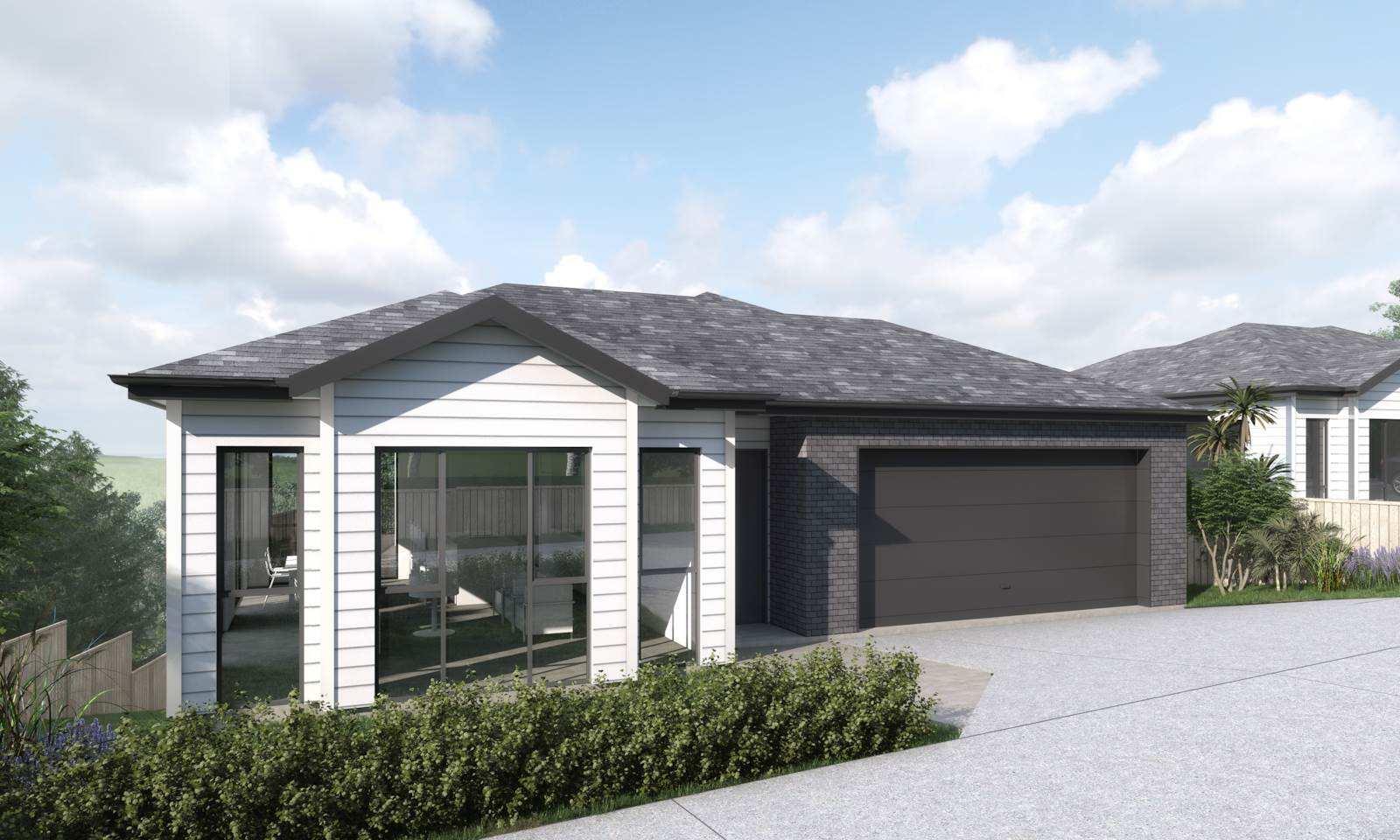 Tuakau 4房 住宅+土地组合 10年建筑质保 15分钟上高速 配套应有尽有 您完美的首房新居! Your Brand New First Home!