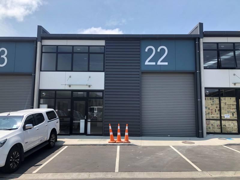 Wiri Brand new 261sqm industrial unit