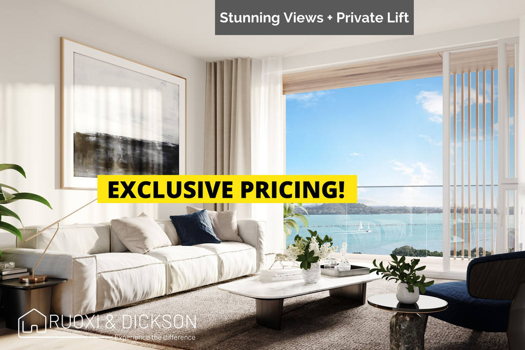 Orakei 3房 Orakei Gem海景城市屋项目 多种精品户型 细节工艺严苛 可负担价格 品位高端生活! Top End Luxury Townhouses With Great Pricing