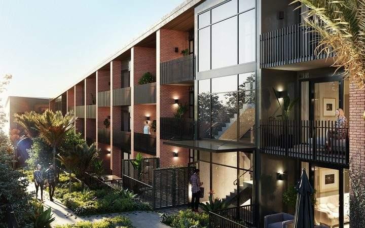 奥克兰中区楼花项目与政府合作!将提供25套可负担公寓!