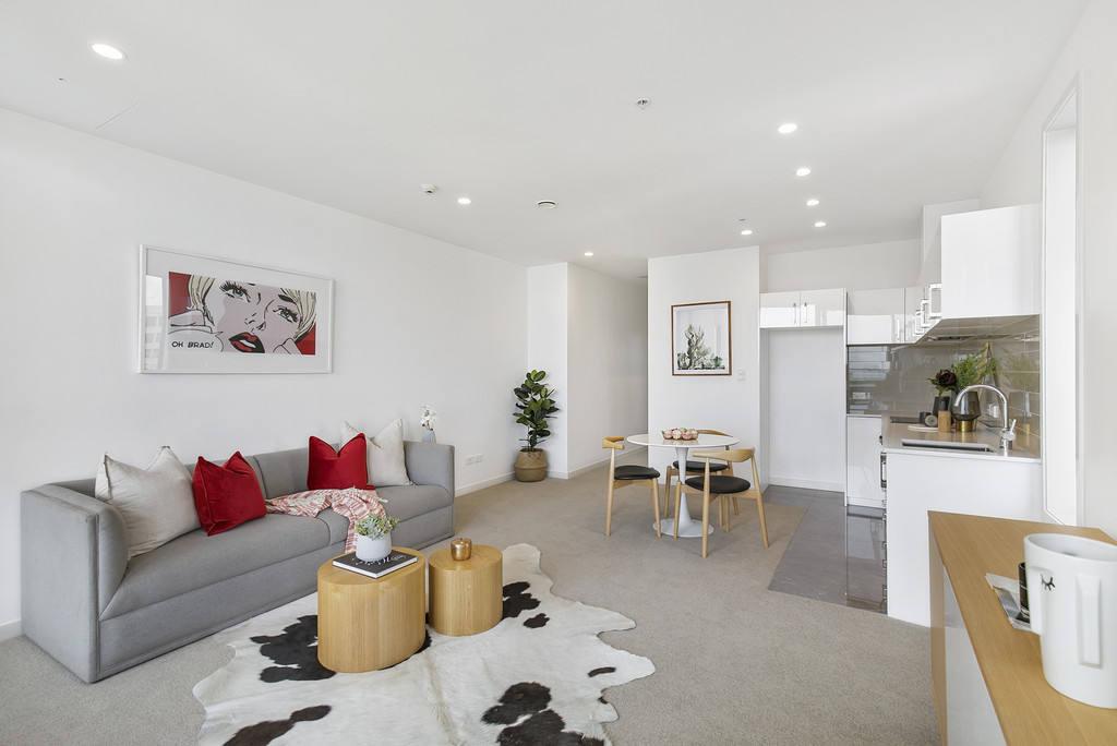 Auckland Central 2房 全新顶层公寓 视野无敌 紧邻便利设施 极具性价比 买到就是赚到! The Sub-Penthouse!