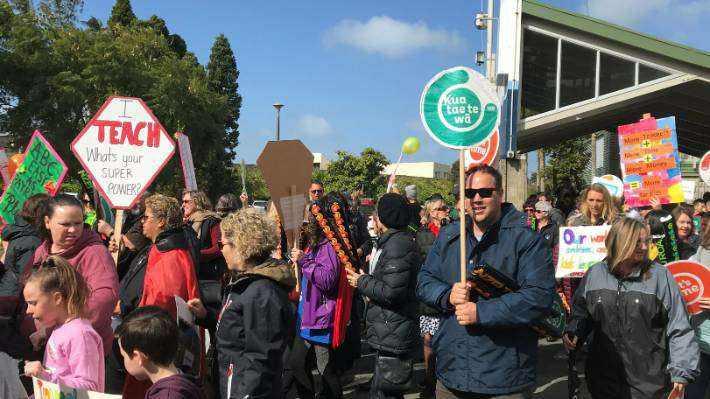 就在下周!新西兰全境多数小学将关闭 教师举行二次罢工!