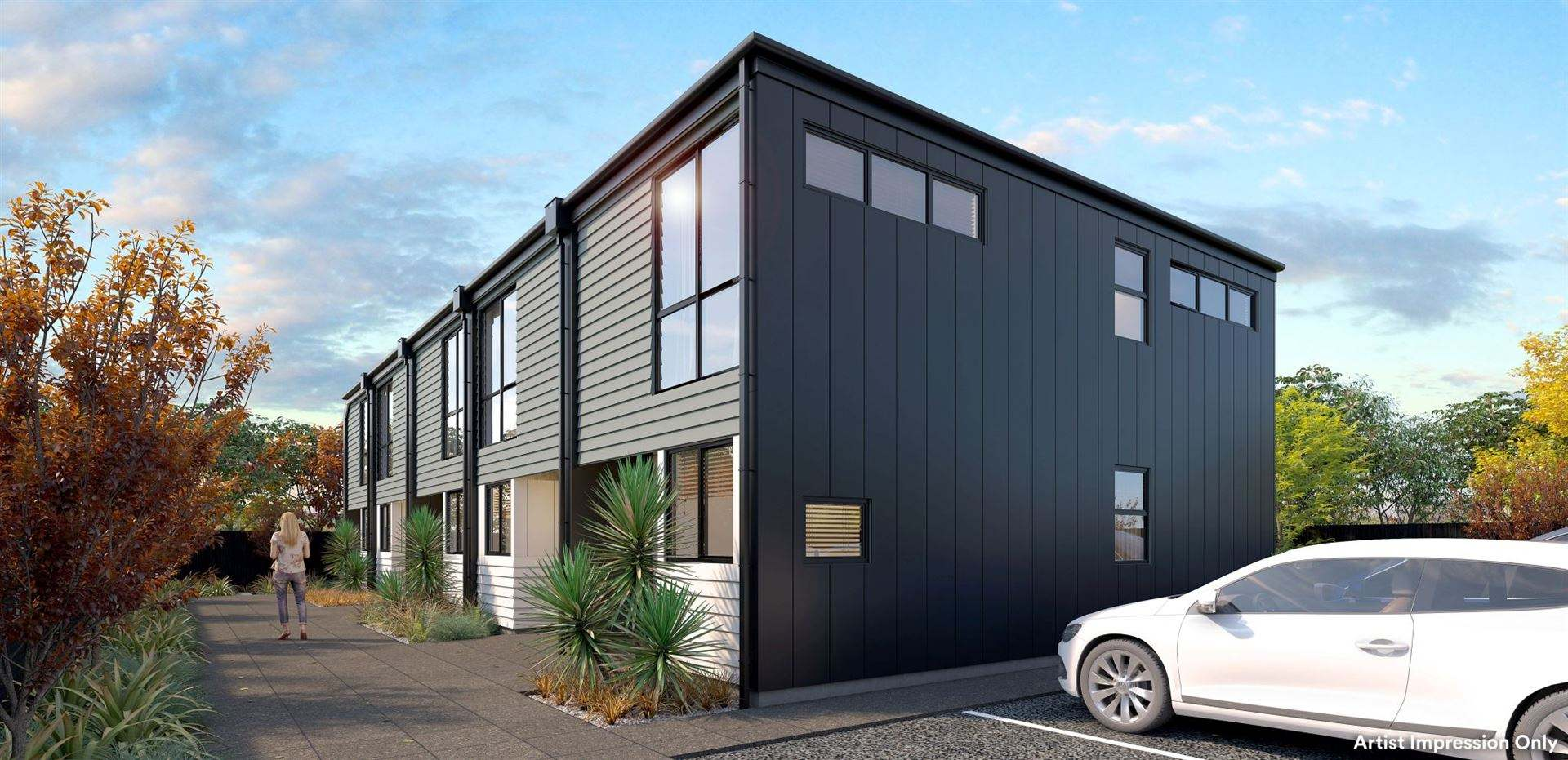 Papanui 2房 New 2 Bed 2 Bath. Northlands Mall.