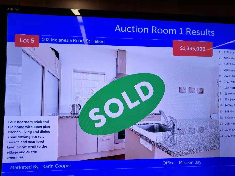 拍卖现场直击 | 圣诞临近,房市交易强劲!双校网学区房$162.5万售出!