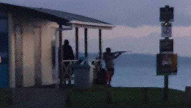 居民吓呆!奥克兰海滩惊现持枪男子,目击者:至少开了两枪