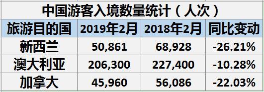 中国游客入境数量