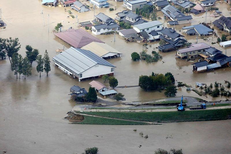 """强台风""""海贝思""""在日本已造成33人死亡、19人失踪"""
