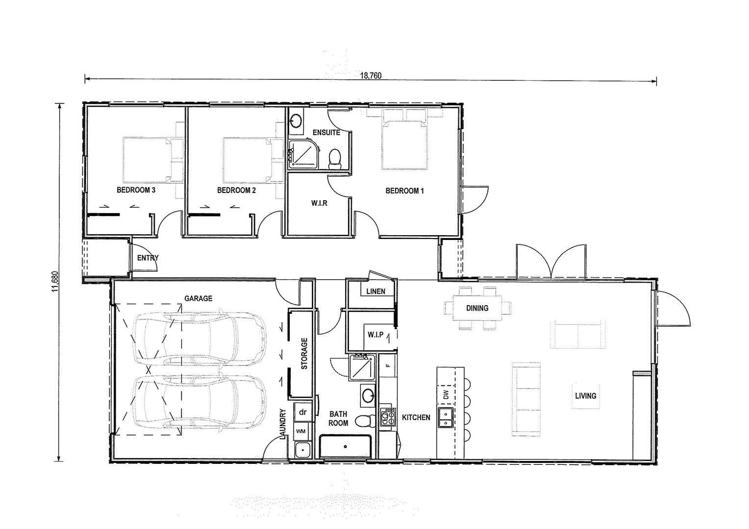 Rolleston 3房 Trendy Design Opportunity