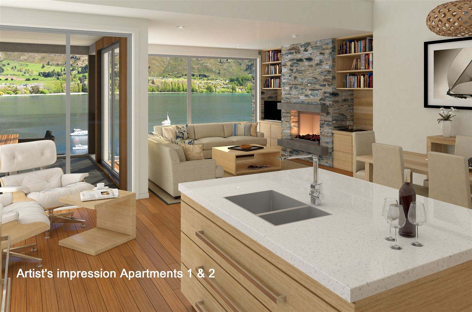 Wanaka 3房 Spoil Yourself With Location