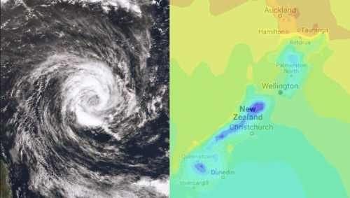 大幅降温,伴随暴雨、大风,周末新西兰人可以穿上毛衣了!