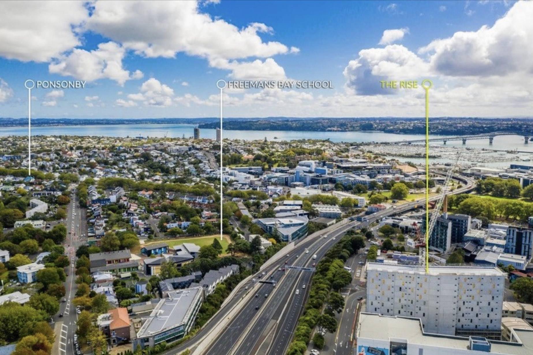 Auckland Central 2房 全新北向美宅 临海而居 饱览城市风光 步行至市中心 机会仅有一次! Quite the star on Union Green...