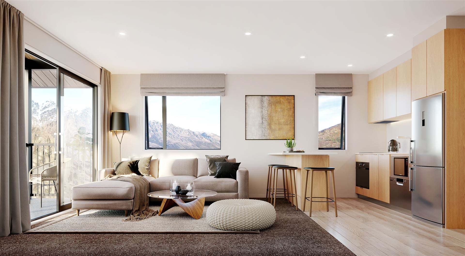 Frankton 1房 Affordable and New - Entry Level Queenstown Apartment