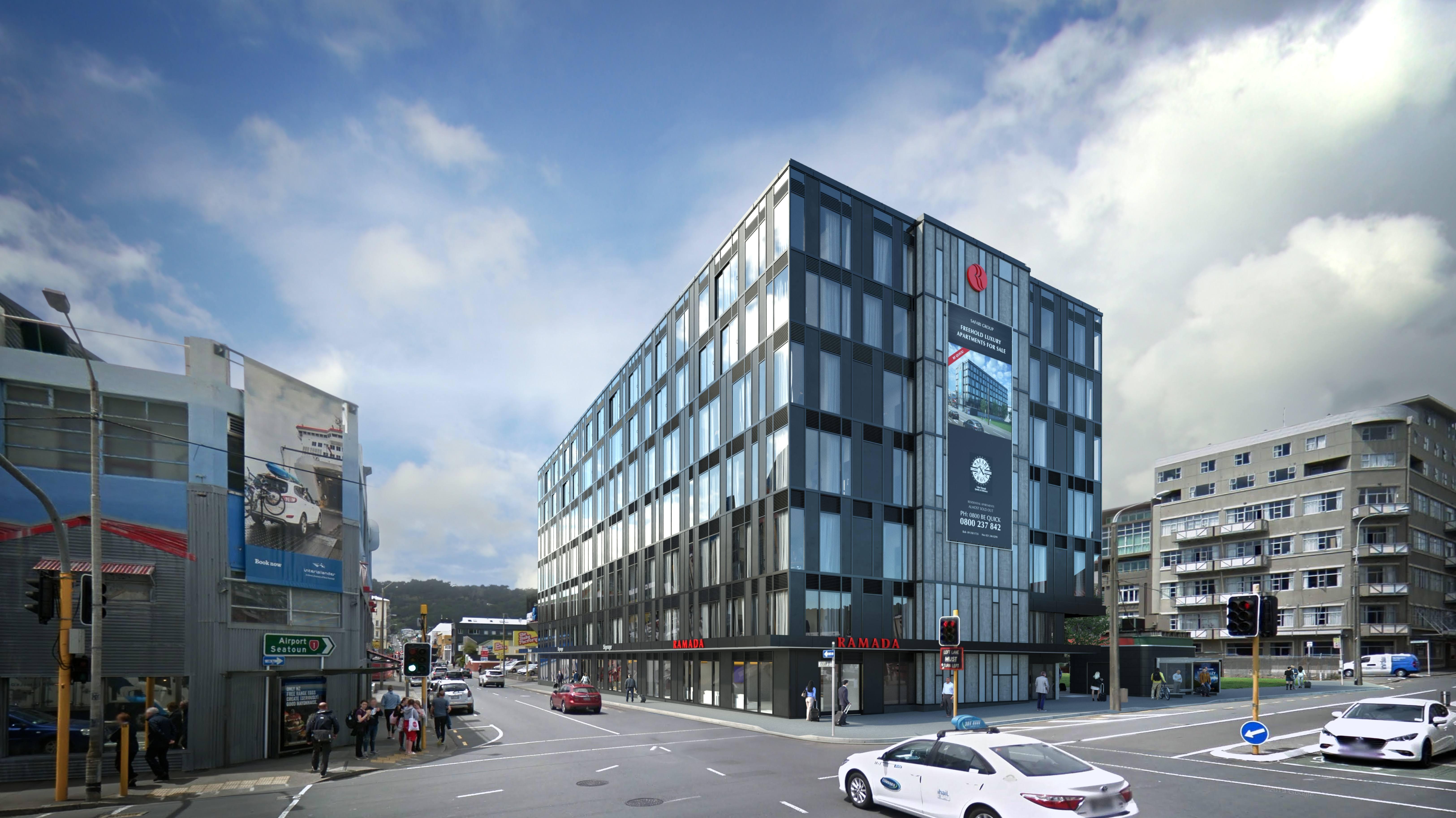 Wellington Central 2019年不能错过的投资机会,2020年完工! 欢迎海外投资者购买! 酒店式公寓$255,238起,华美达惠灵顿市中心全新酒店和套房