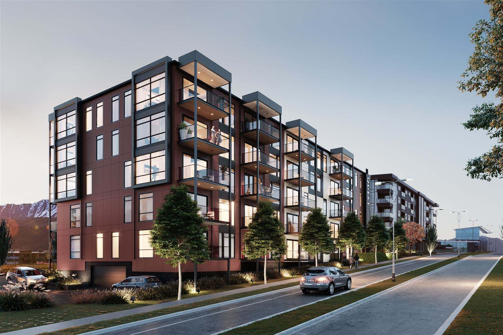 Frankton 2房 Ease and Elegance - Nevis Apartments