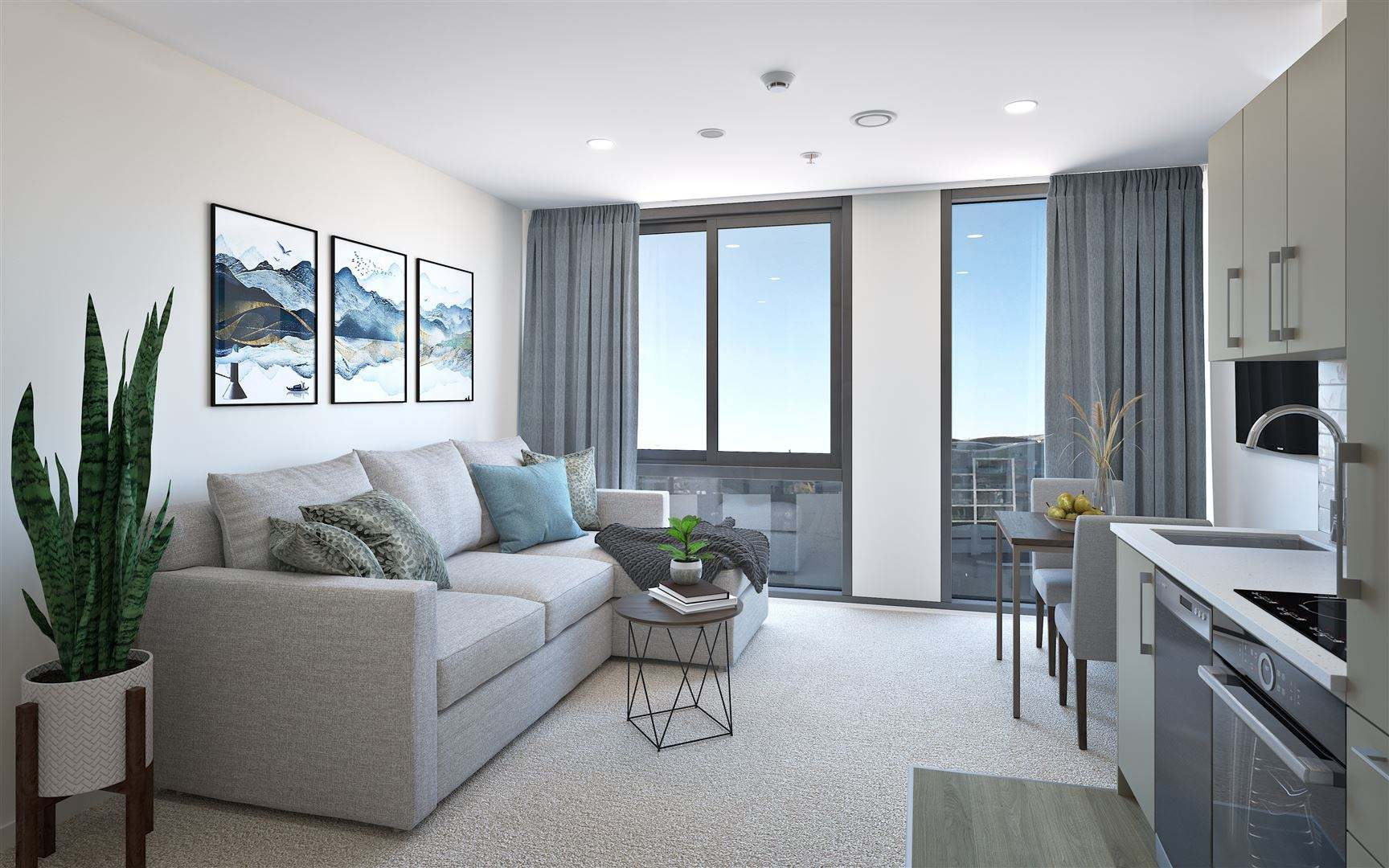 Te Aro 2房 New Dual Key Apartment Available for Viewing Now!