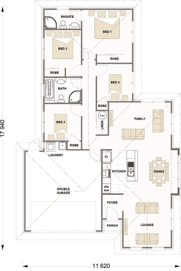 Pukekohe East 4房 House and Land Package