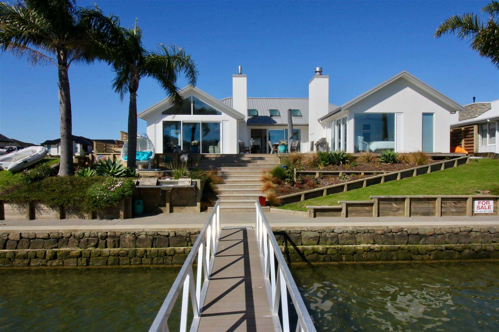 Whitianga 3房 Stunning Canal Front