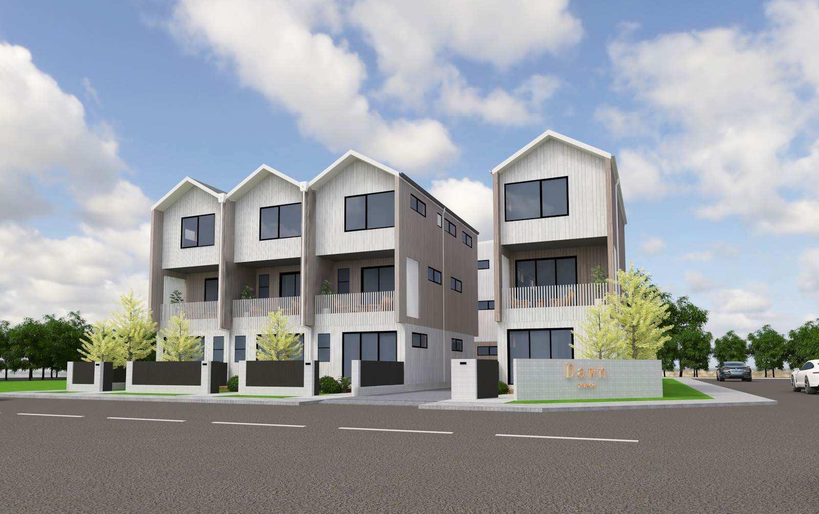Te Atatu South 3房 9套全新在建美宅 多户型选择 15分钟抵达奥克兰CBD 高端配设 自住&投资必看! Superb Location, Under Construction New Home!